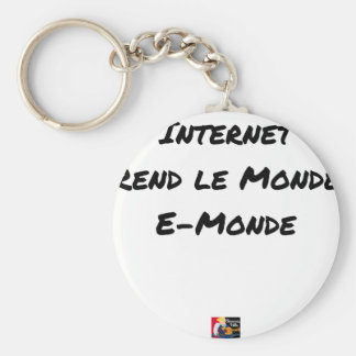 Internet RETURNS LE MONDE PRUNES - Word games Keychain