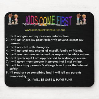 Internet Safety Mouse Pad