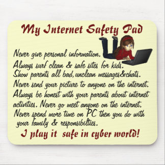 Internet SafetyYW Pad Mouse Pad