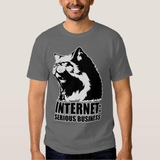 Internet: Serious Business (lolcat funny tshirt) Shirts