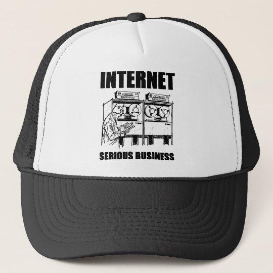 Internet Serious Business Trucker Hat