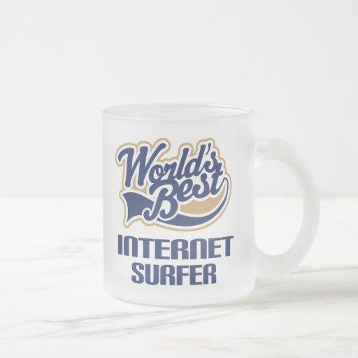 Internet Surfer Gift (Worlds Best) Coffee Mug