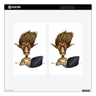Internet Troll Kindle Fire Decals