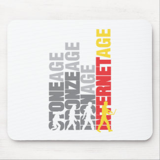 Internet user mouse pad