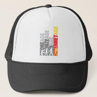 Internet user trucker hat