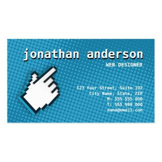 Internet Web Hi-Tech business card