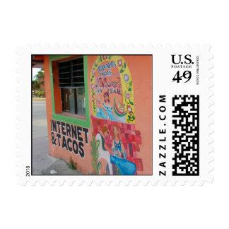 Internet y Tacos Sellos Postales