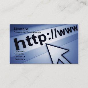 Internet connection business cards zazzle internet business card colourmoves