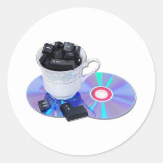 InternetCafe Round Sticker