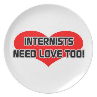 Internists Need Love Too Plates