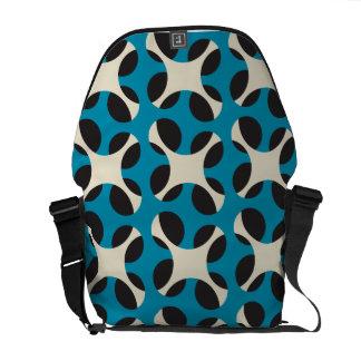 interpenetration original seamless pattern courier bag