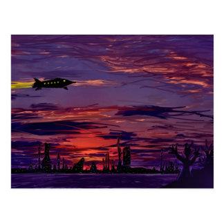 Interplanetary Commute postcard