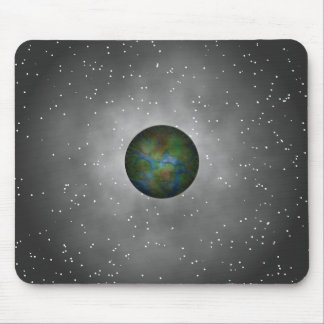 Interplanetary Connection. Galaxy Space Explorer Mousepad