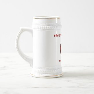 Interplanetary High Council Beer Stein -- Mars
