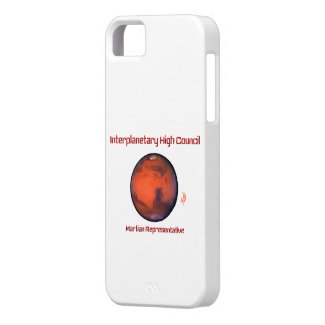 Interplanetary High Council iPhone 5 Case -- Mars