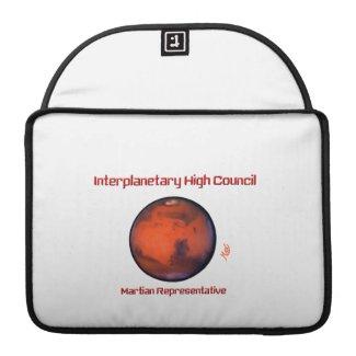 Interplanetary High Council MacBook Pro Case