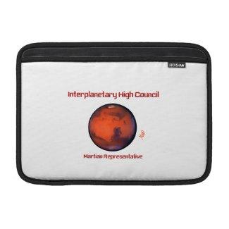Interplanetary High Council MacBook Sleeves - Mars
