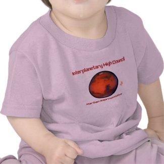 Interplanetary High Council Mars Infant T-Shirt