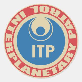 Interplanetary Patrol Sticker
