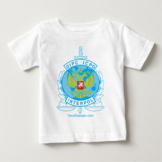 interpol russia badge baby T-Shirt