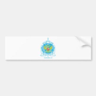 interpol russia badge car bumper sticker