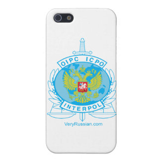 interpol russia badge case for iPhone SE/5/5s