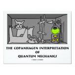 Interpretación de Copanhagen de los mecánicos de Comunicados Personales