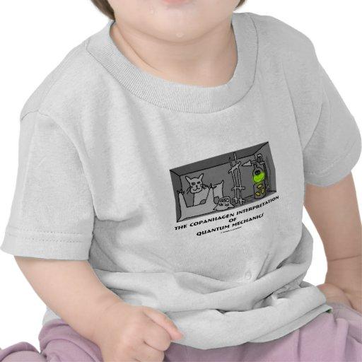 Interpretación de Copanhagen de los mecánicos de Q Camisetas