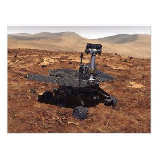 Interpretación de los artistas de Marte Rover Arte Fotográfico