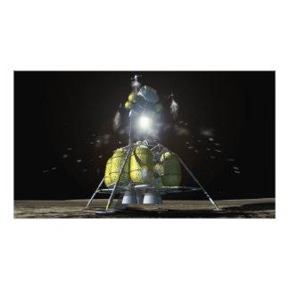 Interpretación del artista de una nueva nave fotografías