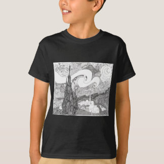 Interpretaion of Starry Starry Night T-Shirt