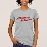 Intérprete del lenguaje de signos: En el Camisetas