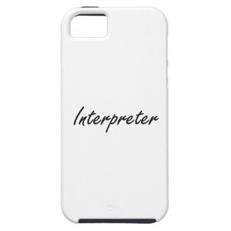 Interpreter Artistic Job Design iPhone 5 Case