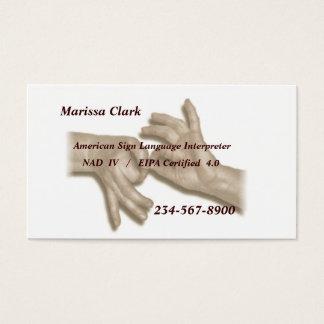 Interpreter Business Card -2