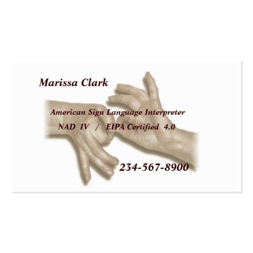Interpreter business cards bizcardstudio interpreter business card 2 colourmoves