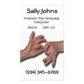 Interpreter Business Card-4