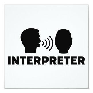 Interpreter Card