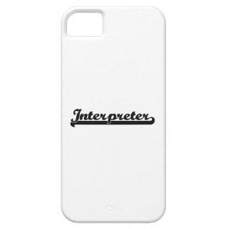 Interpreter Classic Job Design iPhone 5 Case