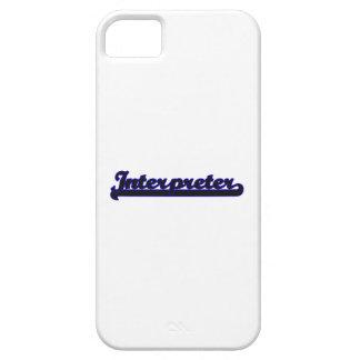Interpreter Classic Job Design iPhone 5 Cover