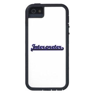 Interpreter Classic Job Design iPhone 5 Cases