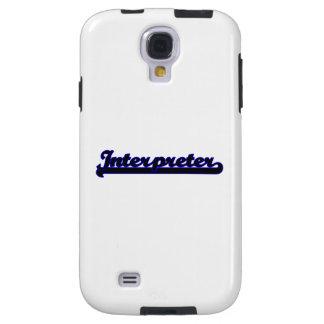 Interpreter Classic Job Design Galaxy S4 Case