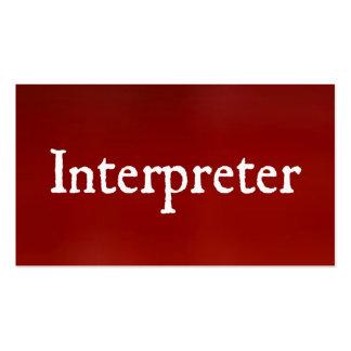 Interpreter business card templates 28 images interpreter interpreter business card templates by interpreter business cards templates zazzle colourmoves