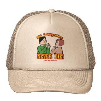 Interpreters Trucker Hat