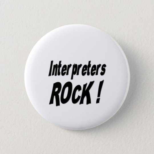 Interpreters Rock! Button