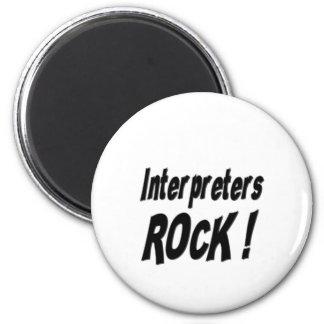 Interpreters Rock! Magnet