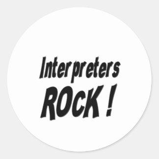 Interpreters Rock! Sticker