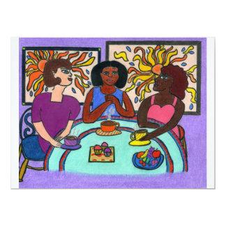 Interracial 6.5x8.75 Paper Invitation Card