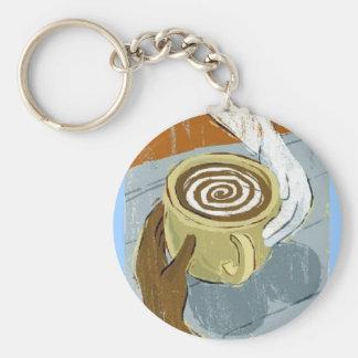 interracial-dating basic round button keychain