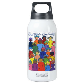 Interracial Insulated Water Bottle