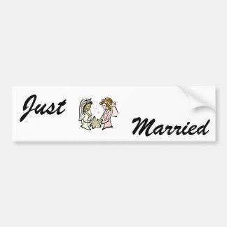 Interracial Lesbian Lovers Bumper Sticker